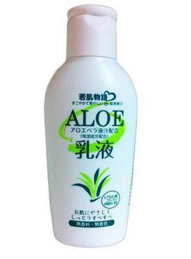 Питательное молочко для лица на основе экстракта алоэ, 105мл.